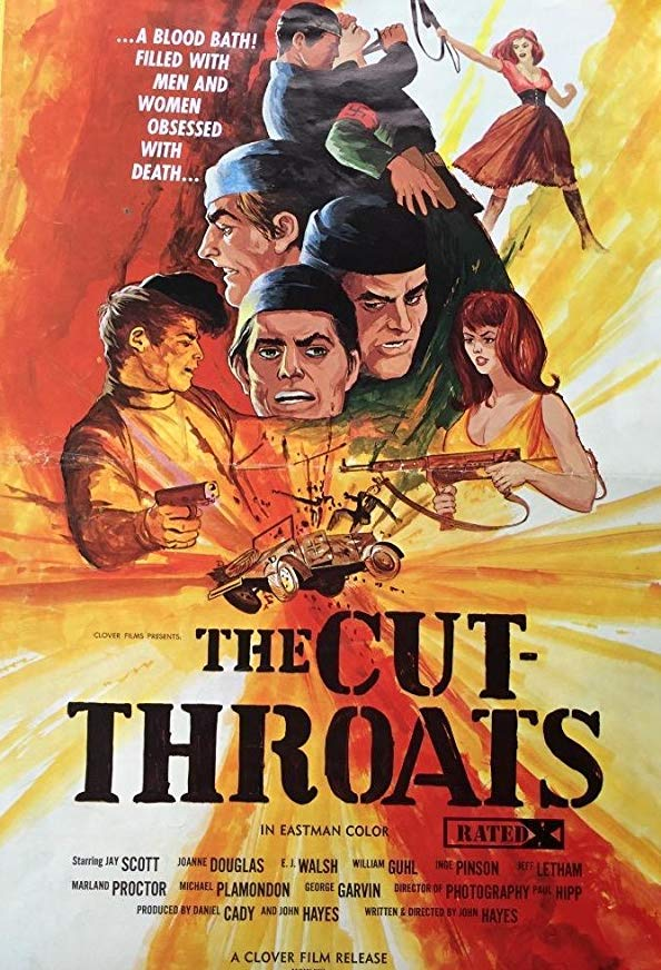 The Cut-Throats kapak