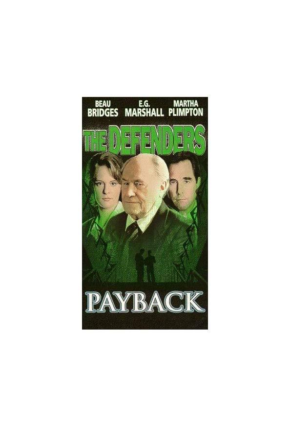 The Defenders: Payback kapak