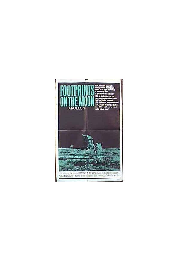 Footprints on the Moon: Apollo 11 kapak
