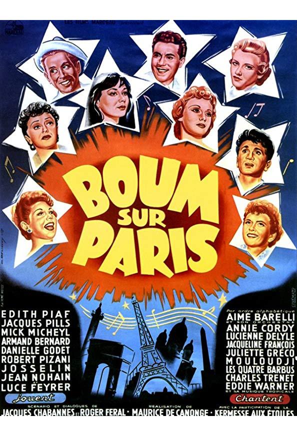 Boum sur Paris kapak