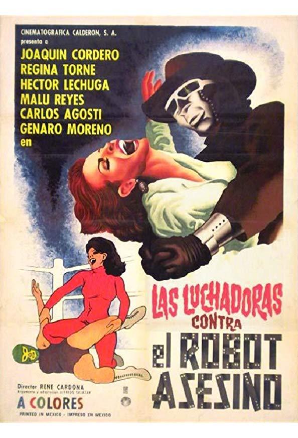 Las luchadoras vs el robot asesino kapak