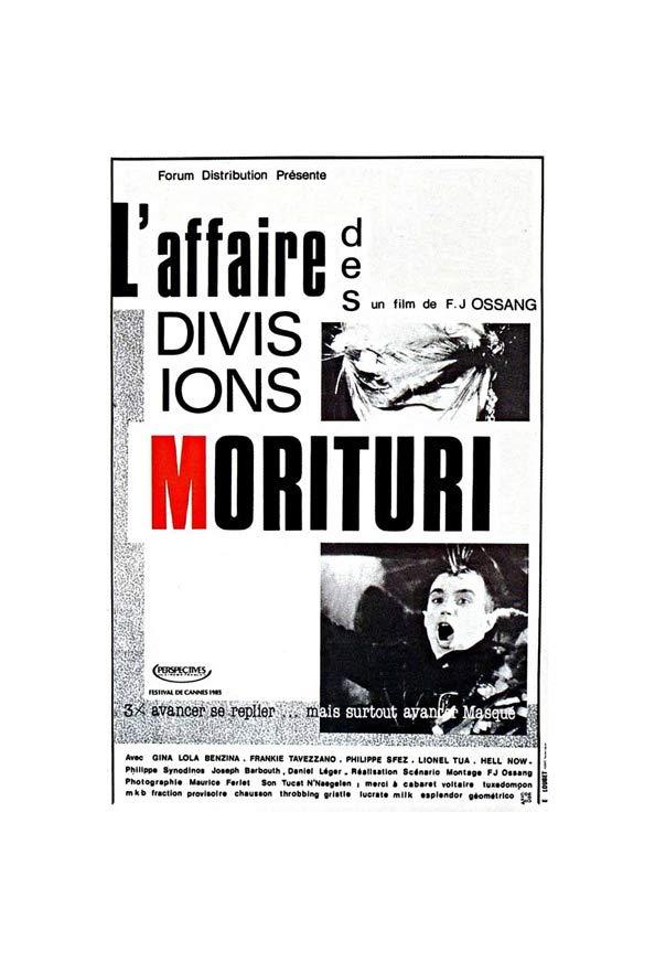 L'affaire des divisions Morituri kapak