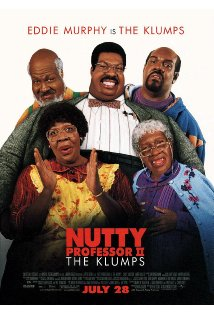 Nutty Professor II: The Klumps kapak