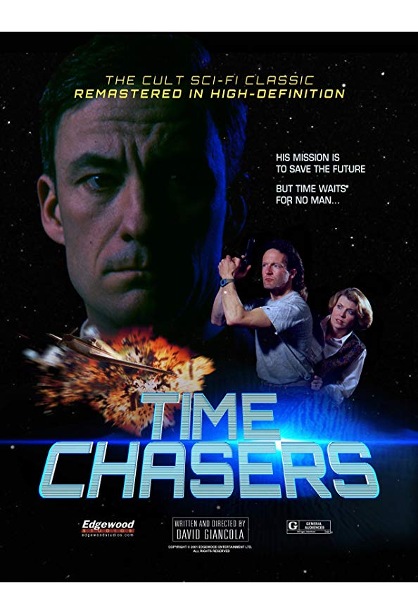 Time Chasers kapak