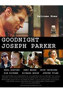 Goodnight, Joseph Parker kapak
