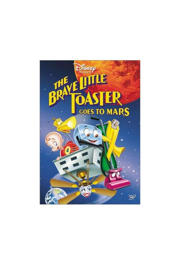 The Brave Little Toaster Goes to Mars kapak