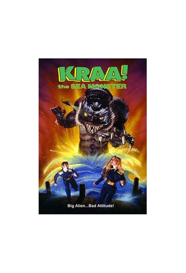Kraa! The Sea Monster kapak