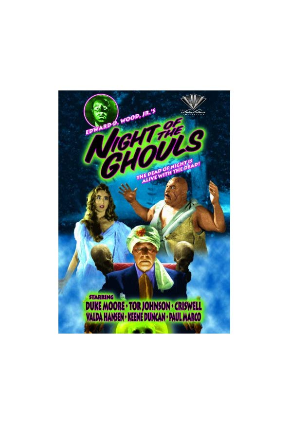 Night of the Ghouls kapak