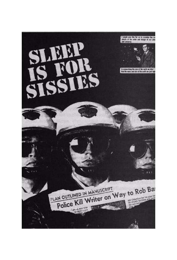 Sleep Is for Sissies kapak