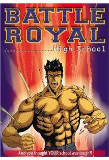 Battle Royal High School kapak