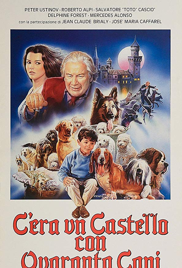 There Was a Castle with Forty Dogs kapak