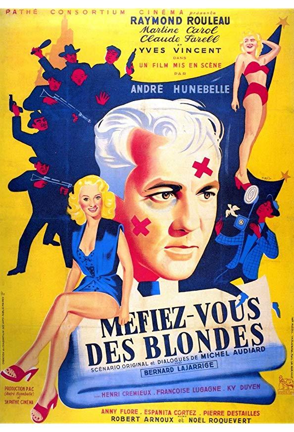 Méfiez-vous des blondes kapak