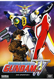 Mobile Suit Gundam Wing kapak