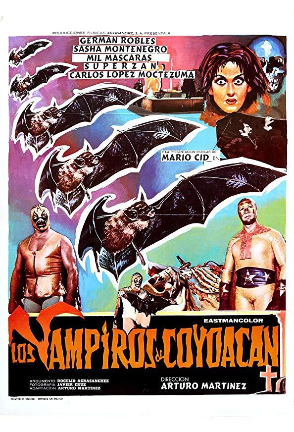 Los vampiros de Coyoacán kapak