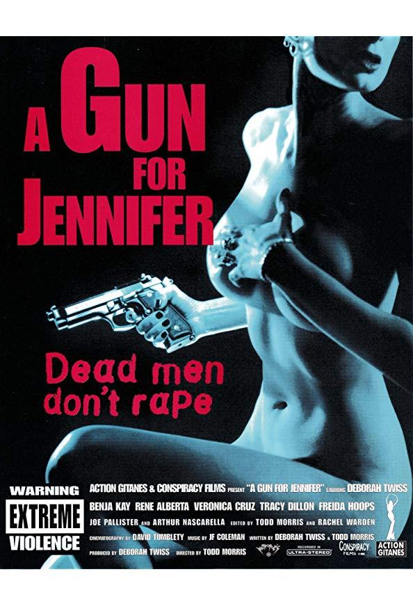 A Gun for Jennifer kapak