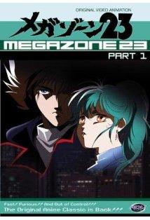 Megazone 23 kapak