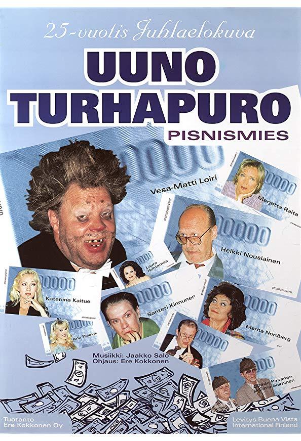 Johtaja Uuno Turhapuro - pisnismies kapak