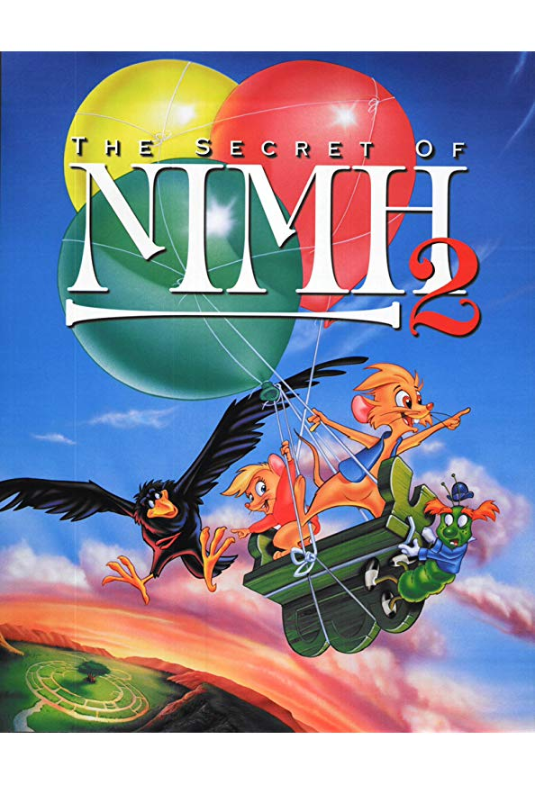 The Secret of NIMH 2: Timmy to the Rescue kapak