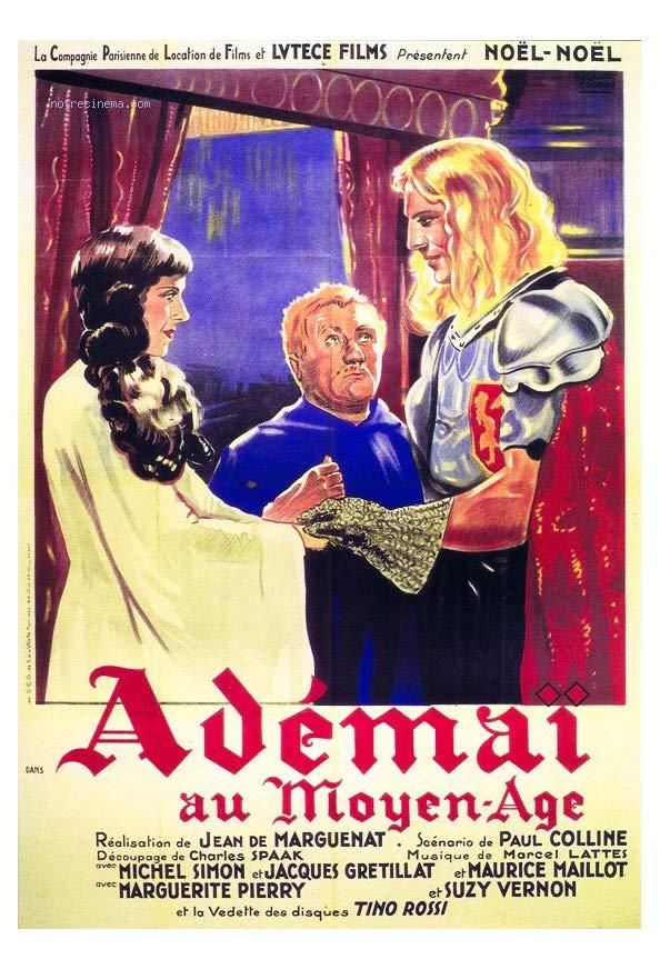 Adémaï au moyen âge kapak
