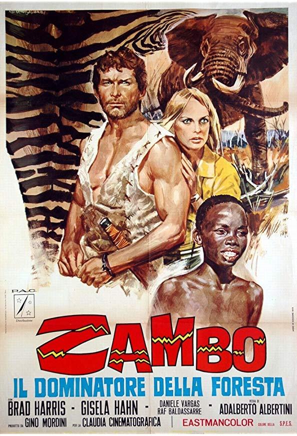Zambo, King of the Jungle kapak