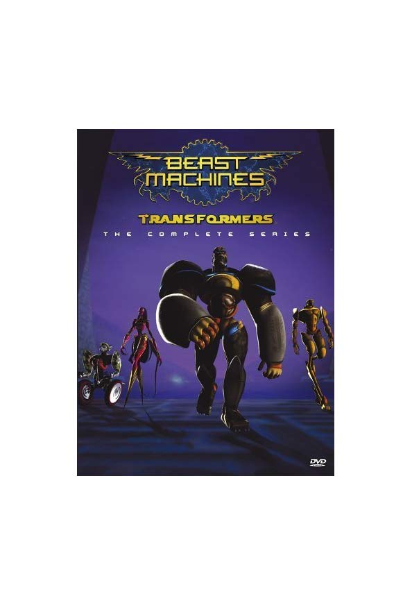 Beast Machines: Transformers kapak