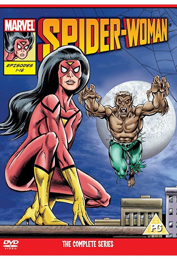 Spider-Woman kapak
