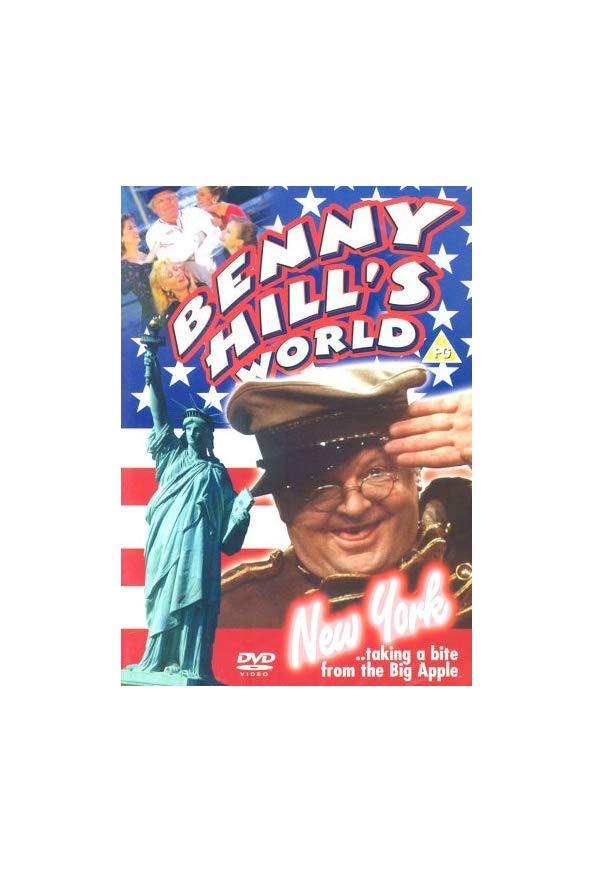 Benny Hill's World Tour: New York! kapak