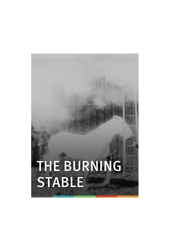 The Burning Stable kapak