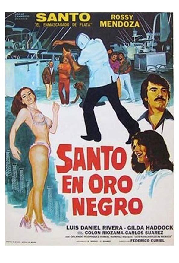 La noche de San Juan: Santo en Oro negro kapak