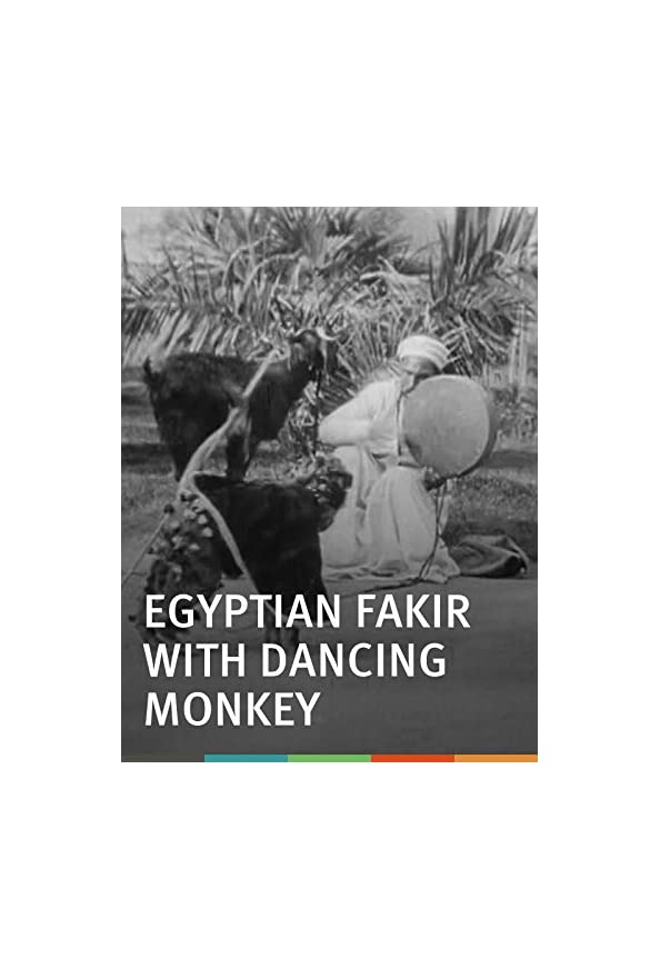 Egyptian Fakir with Dancing Monkey kapak