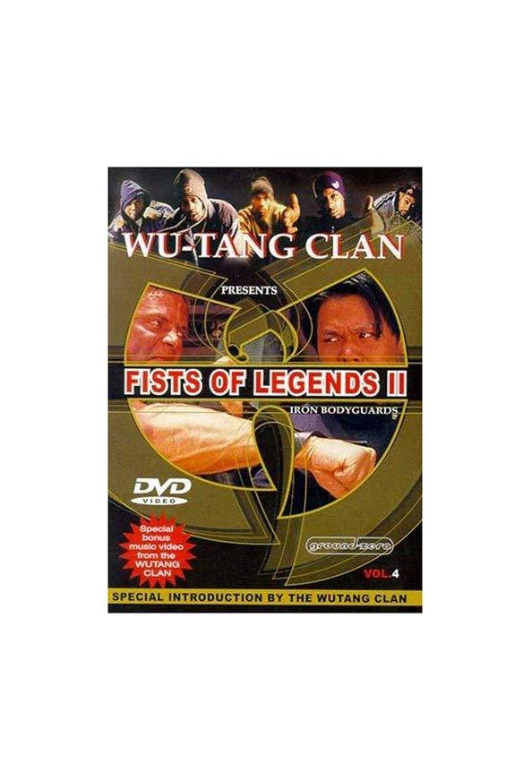 Fist of Legends 2: Iron Bodyguards kapak