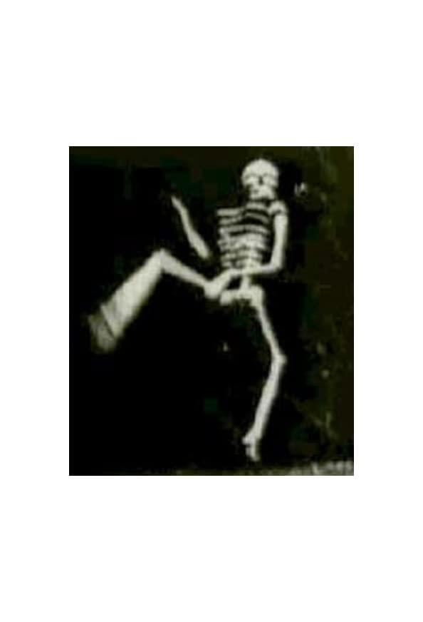 The Dancing Skeleton kapak