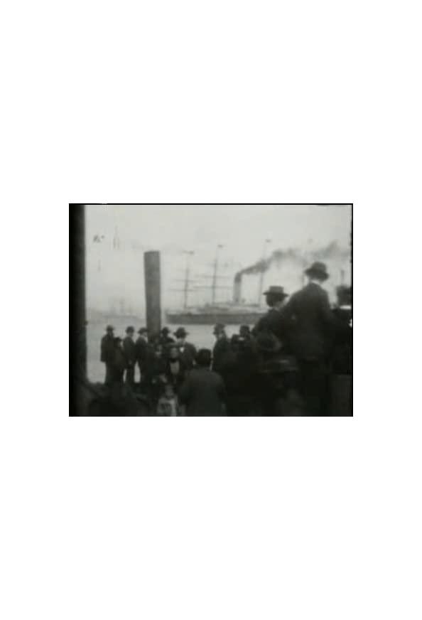 S.S. 'Coptic' in the Harbor kapak