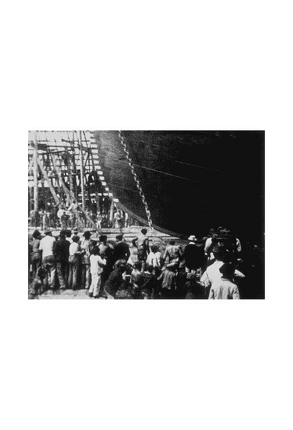 Lancement d'un navire kapak