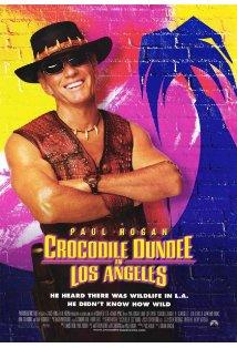 Crocodile Dundee in Los Angeles kapak