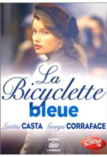 La bicyclette bleue kapak