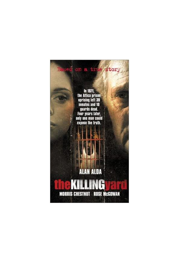 The Killing Yard kapak