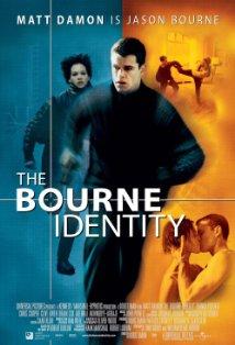 The Bourne Identity kapak