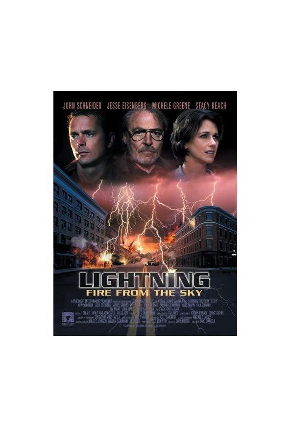 Lightning: Fire from the Sky kapak
