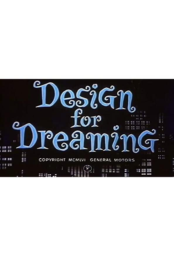 Design for Dreaming kapak