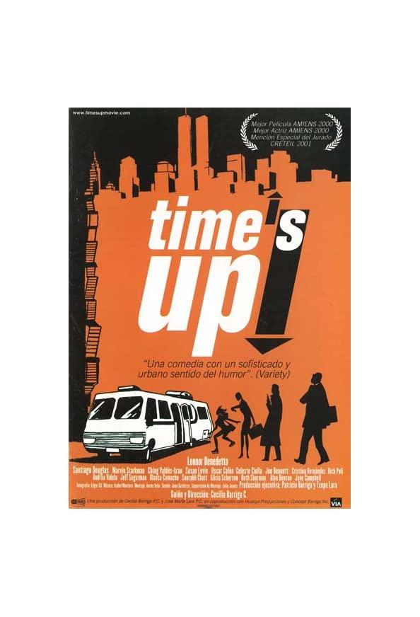 Time's Up! kapak