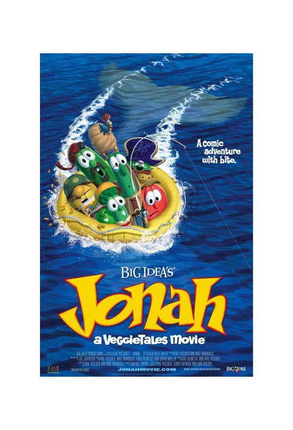 Jonah: A VeggieTales Movie kapak
