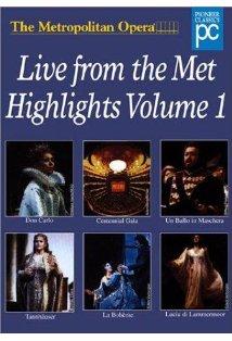 Live from the Metropolitan Opera Cavalleria Rusticana Pagliacci kapak