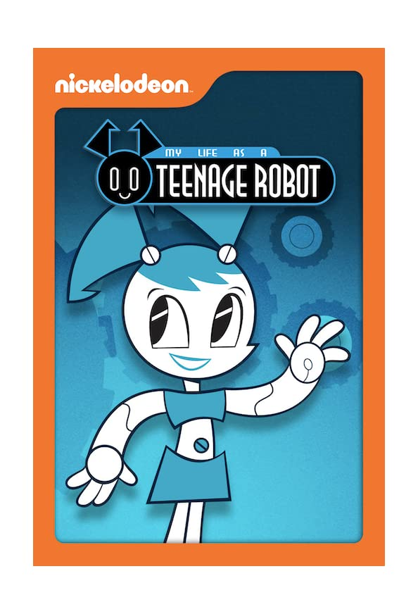 My Life as a Teenage Robot kapak