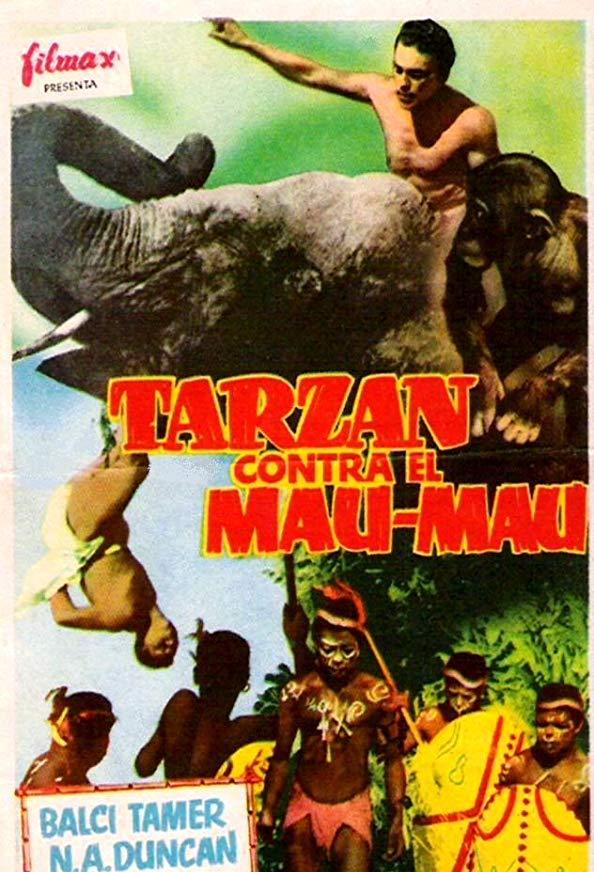 Tarzan in Istanbul kapak
