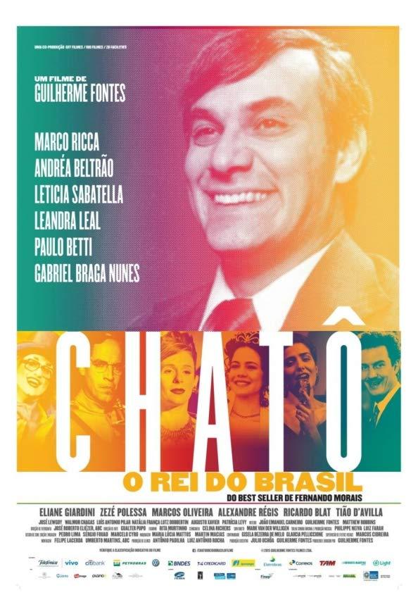 Chatô - The King of Brazil kapak
