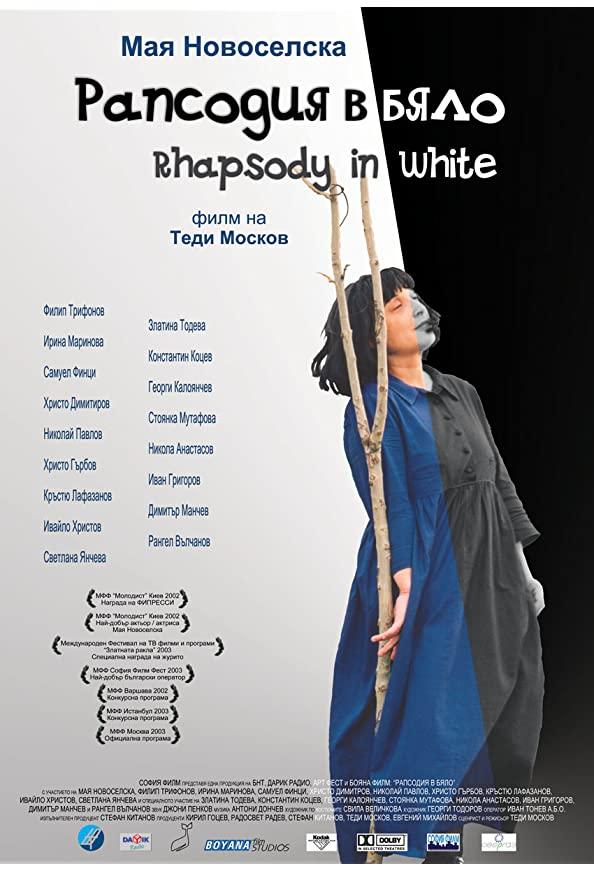 Rhapsody in White kapak