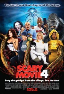 Scary Movie 4 kapak