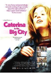 Caterina in the Big City kapak