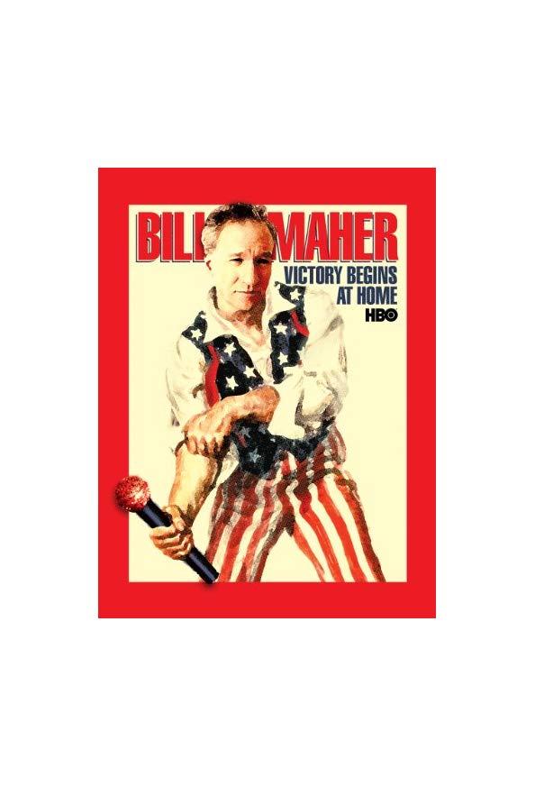 Bill Maher: Victory Begins at Home kapak